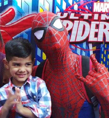 Spiderman-Birthday-Party
