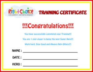 Superhero-Party-Certificate