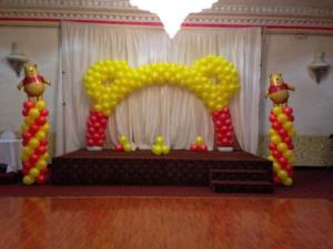 Winnie-The-Pooh-Theme-Balloon-Decorations