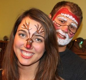 Face-Painting-Christmas