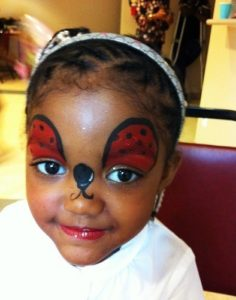 Face-Painting-Lady-Bug