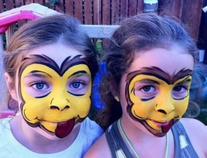Face-Painting-Monkey