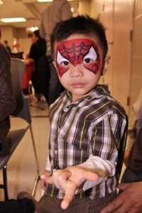 Face-Painting-Spiderman