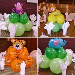 Balloon Decorations And Arrangements