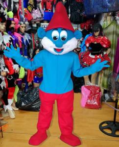 Pappa-Smurf-Mascot