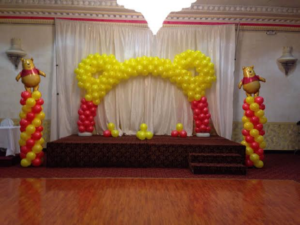 Winnie-The-Pooh-Theme-Balloon-Decorations