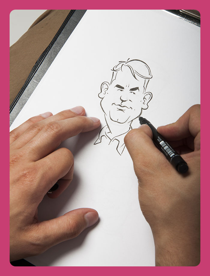 Caricature-artist-toronto