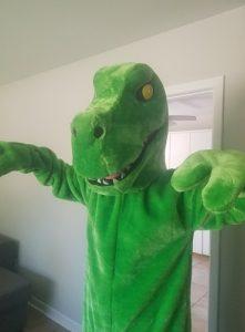 dinosaur green c