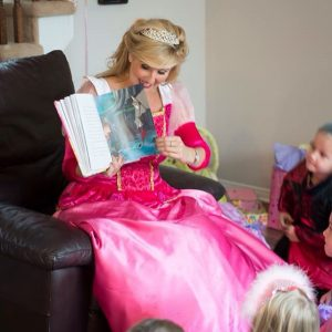 princess birthday reading