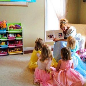 princess party reading